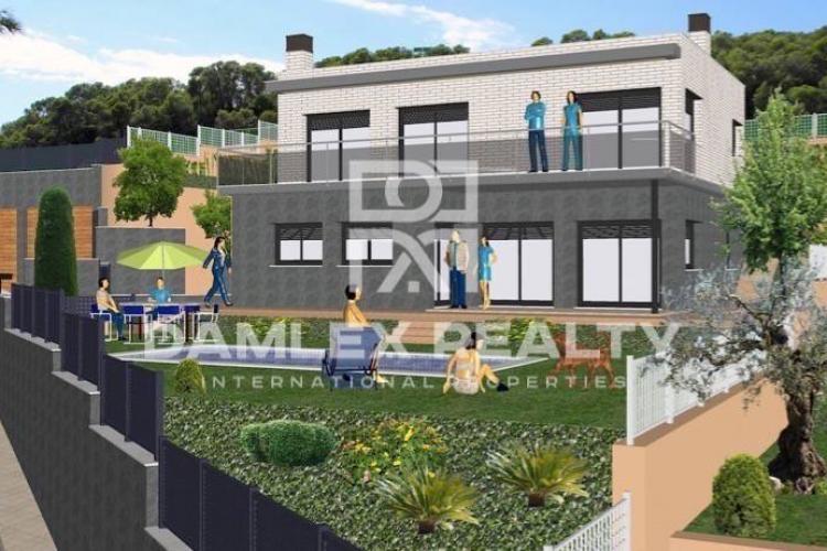 Maison / Villa avec 4 chambres, terrain 550m2, a vendre á Premia de Dalt, Côte Nord de Barcelone