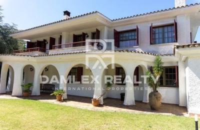 Maison / Villa avec 6 chambres, terrain 1260m2, a vendre á Alella, Côte Nord de Barcelone