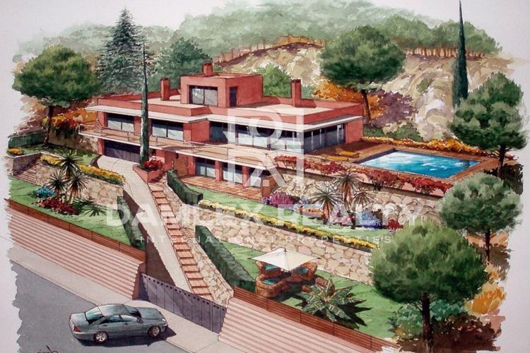 Maison / Villa avec 5 chambres, terrain 1227m2, a vendre á Begur, Costa Brava