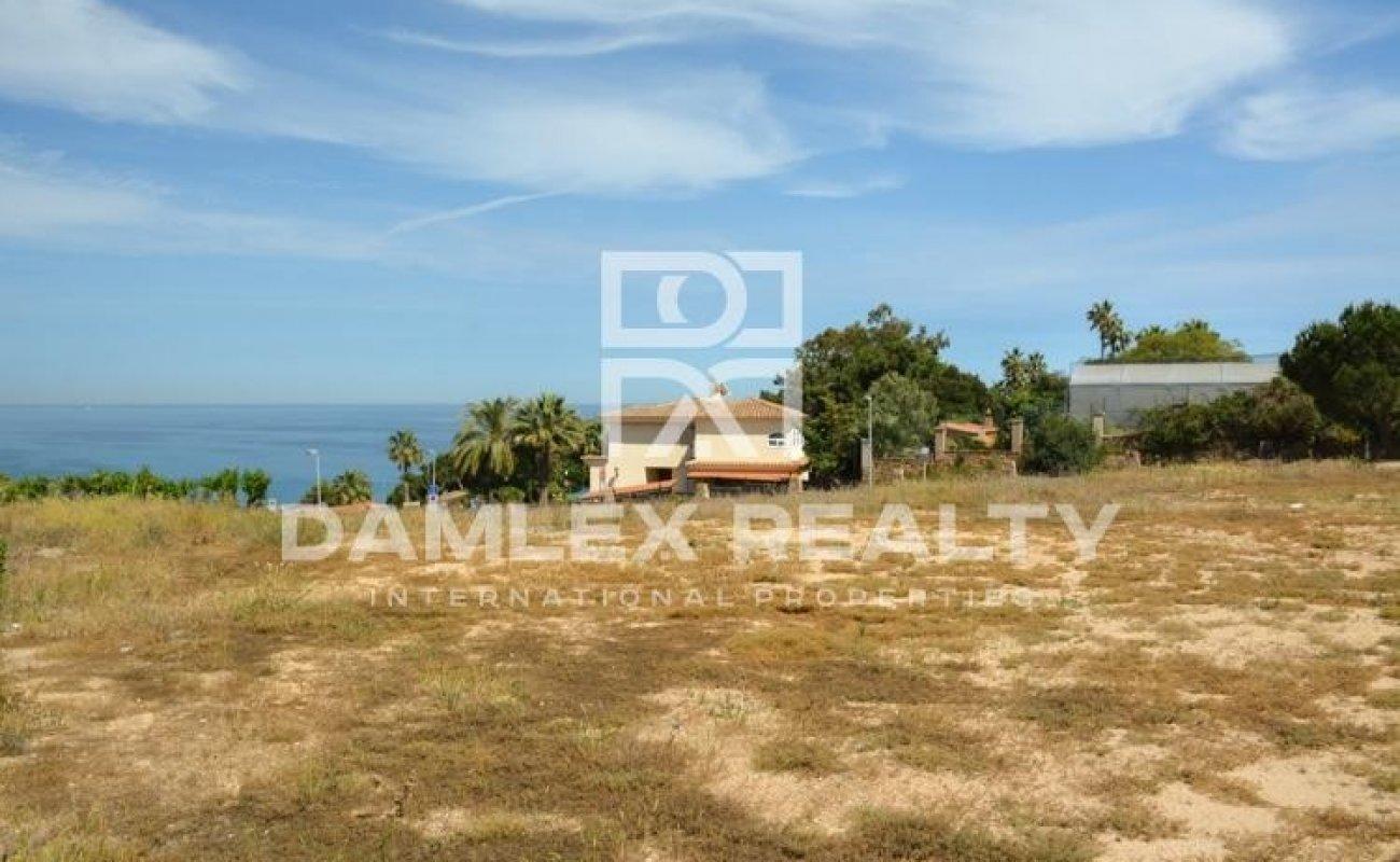 Terrain 2143m2 pour construir a vendre á Blanes, Costa Brava