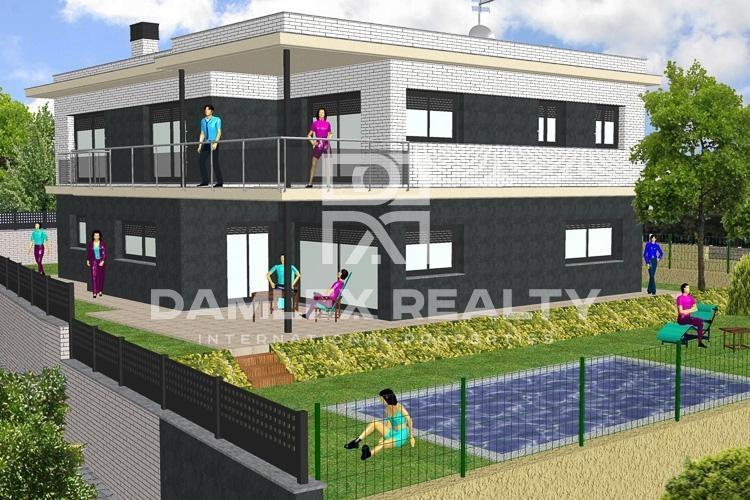 Maison / Villa avec 5 chambres, terrain 570m2, a vendre á Premia de Dalt, Côte Nord de Barcelone