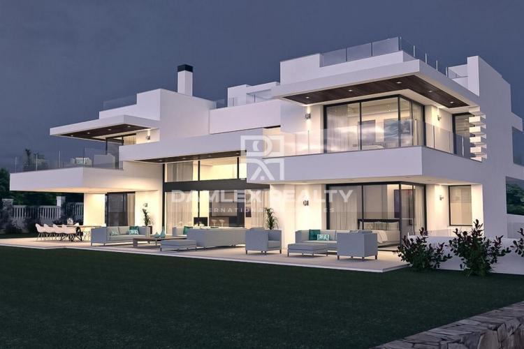 Maison / Villa avec 5 chambres, terrain 2100m2, a vendre á Golden Mile, Costa del Sol