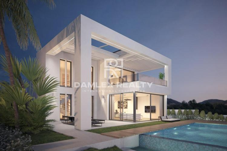 Maison / Villa avec 3 chambres, terrain 623m2, a vendre á Mijas / Fuengirola, Costa del Sol