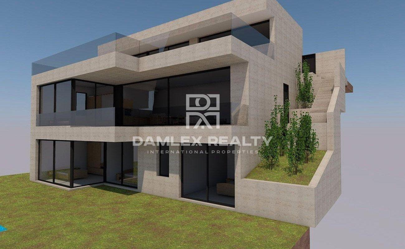 Villa de nouvelle construction sur Lloret de Mar