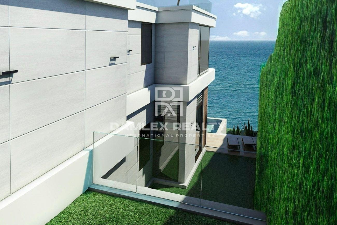 Maison / Villa avec 4 chambres, terrain 736m2, a vendre á Arenys de Munt, Côte Nord de Barcelone