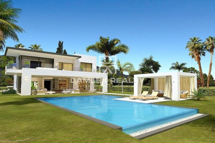 Vente de nouvelles villas à Marbella.