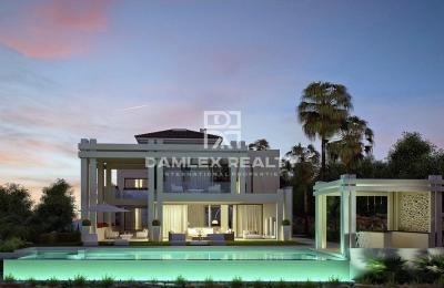 Villa de luxe moderne dans l