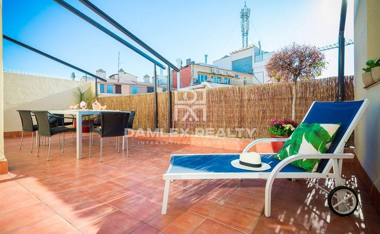 Penthouse dans le centre de Barcelone
