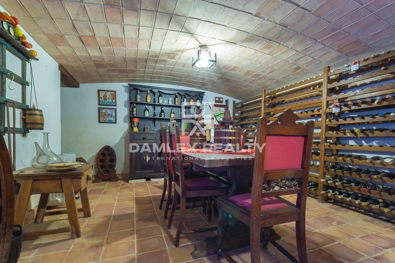 Finca exclusive sur la Costa Brava près de Blanes