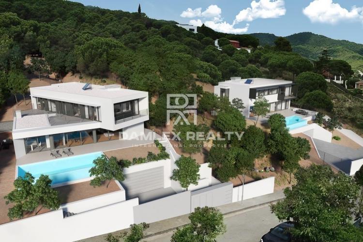 Nouvelle construction de maisons de haute qualité