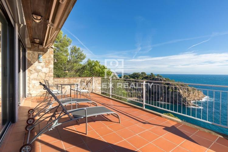 Appartements à Tossa de Mar - Cala Giverola, avec vue panoramique sur la baie