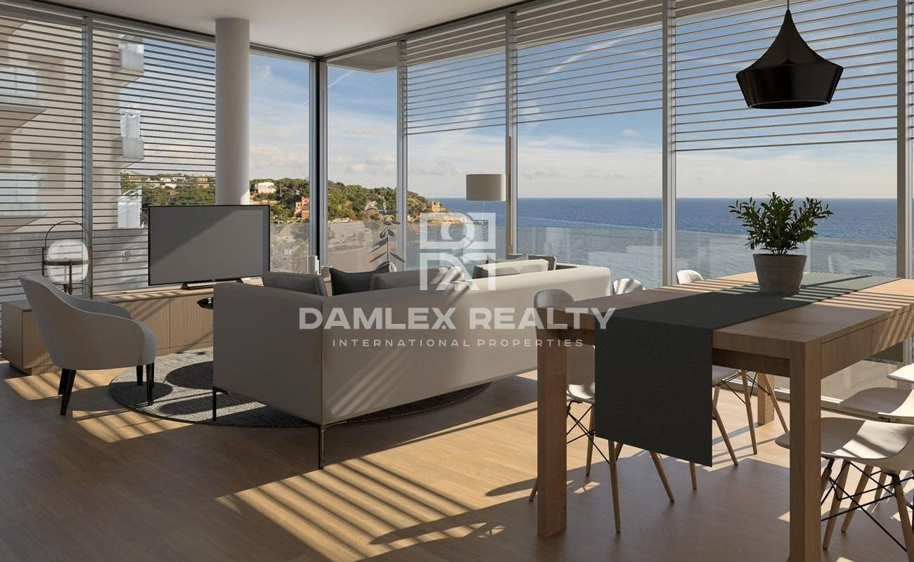 Nouvelle construction. Appartements en bord de mer à Lloret de Mar - Costa Brava