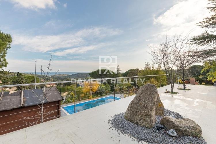 Maison confortable dans une urbanisation tranquille avec vue sur la mer à Playa de Aro