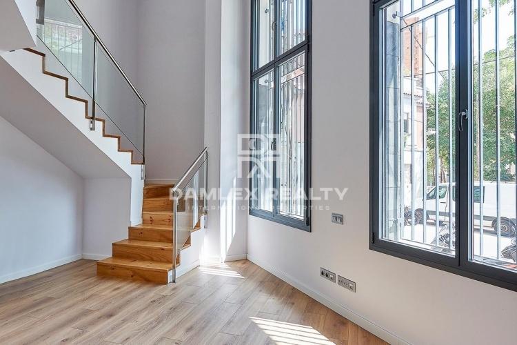 Dernier étage dans un nouveau bâtiment. Barcelone