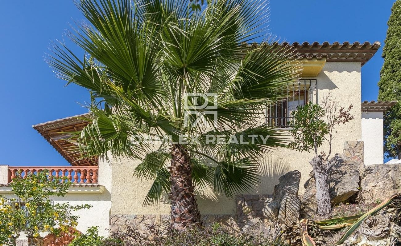 Maison avec vue panoramique sur la mer à Lloret de Mar