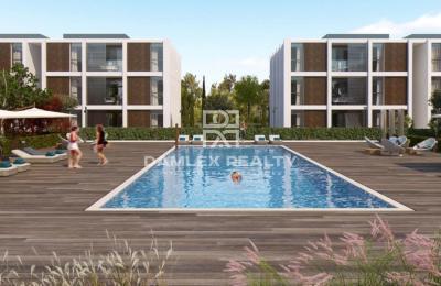Nouveau complexe d`appartements dans la ville de Playa de Aro