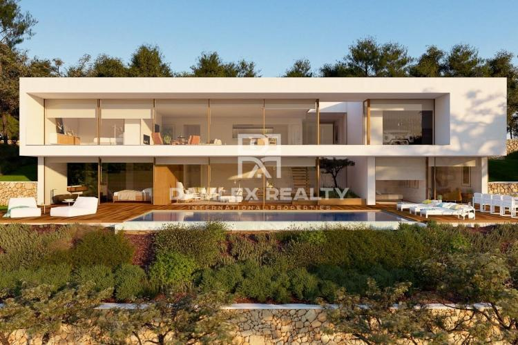 Villa de luxe située dans le très prestigieux quartier de Cala San Francesc