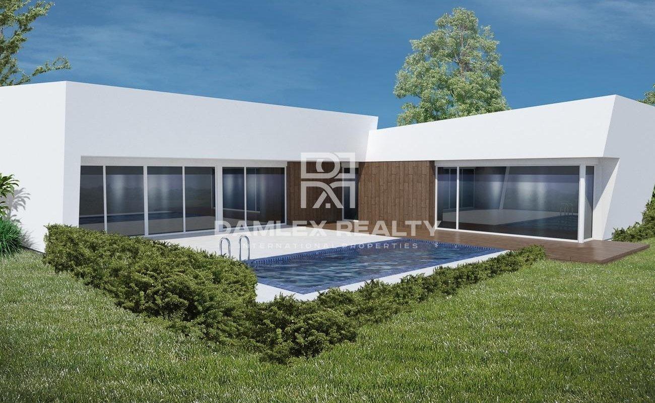 Nouvelle construction durable et écologique dans quartier privé