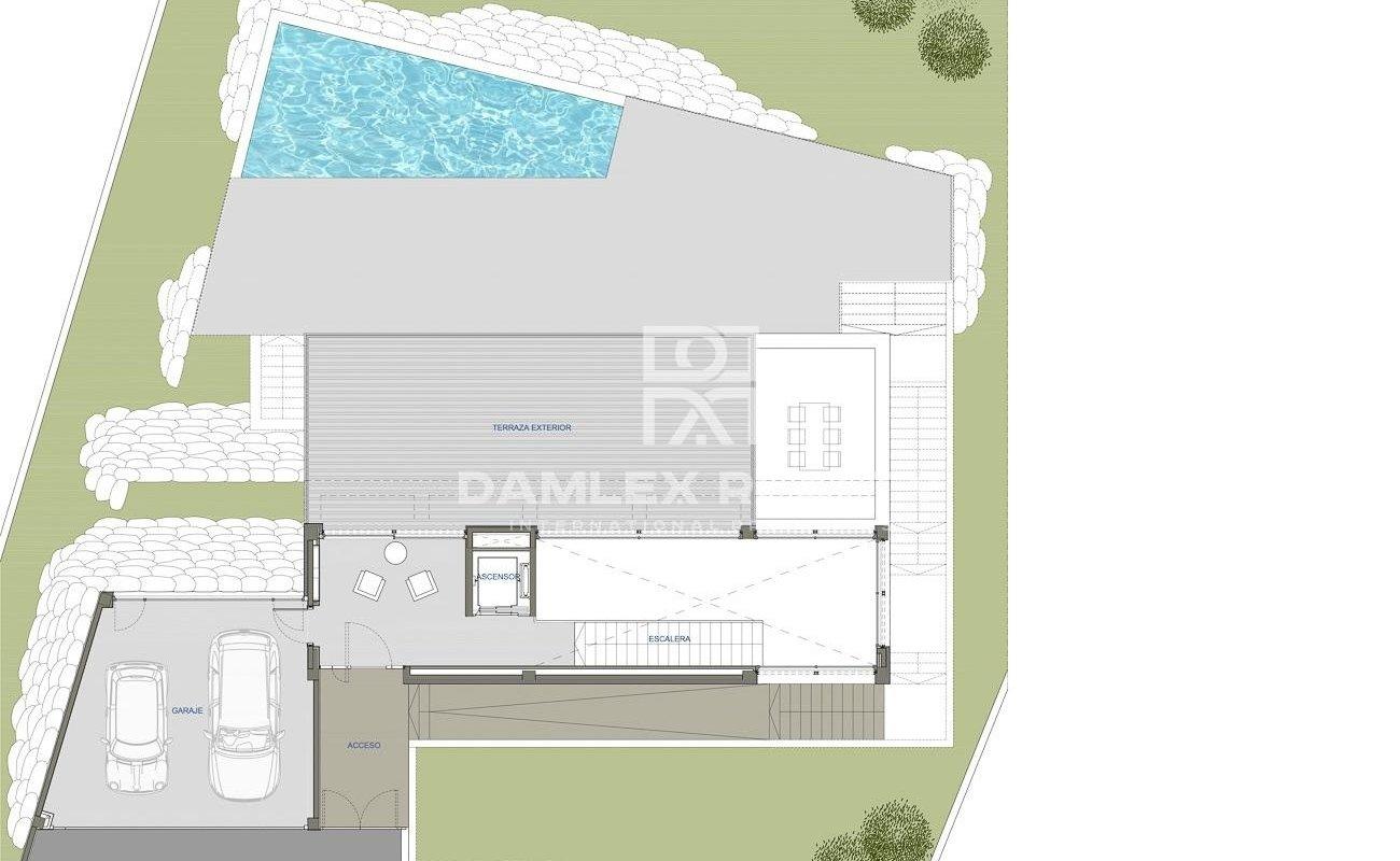 Villa ultramoderne avec vue imprenable sur la mer, Costa Brava