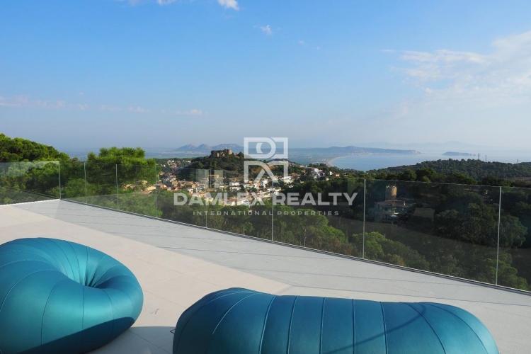 Villa 51, Villa ultramoderne avec vue imprenable sur la mer, Costa Brava