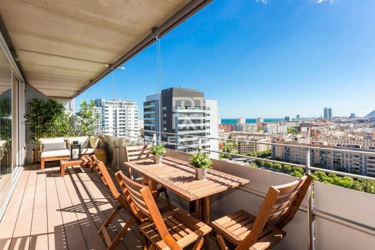 Appartements à vendre avec 1-2-3 chambres dans un complexe à Diagonal Mar