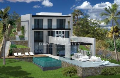 Maison moderne à Lloret de Mar avec vues panoramiques sur la mer