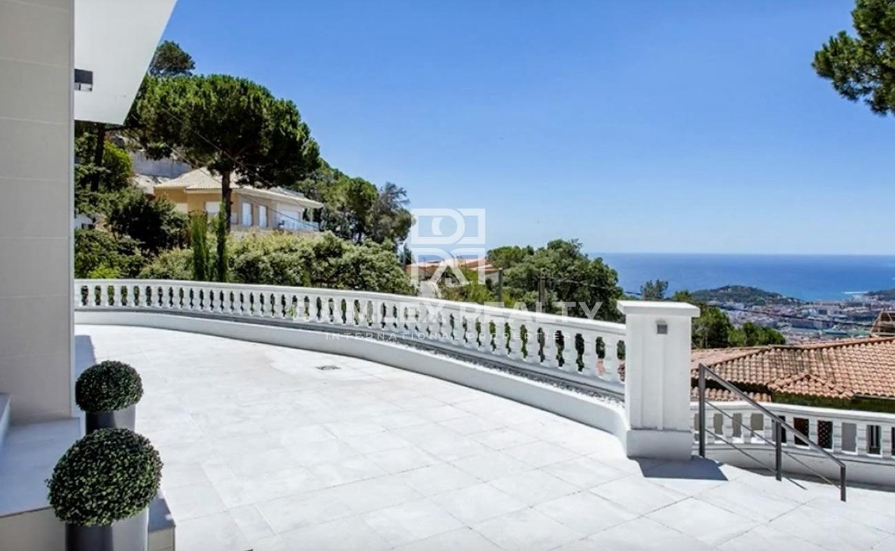 Magnifique maison avec vue sur la mer à Lloret de Mar