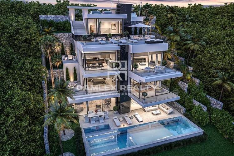 Nouvelle villa moderne sur le front de mer à Javea