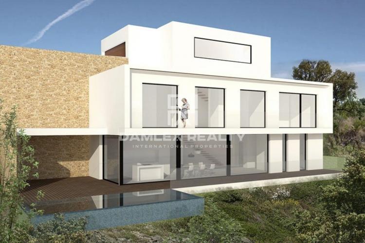 Villa contemporaine en première ligne de mer