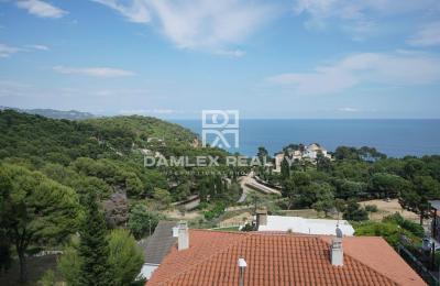 Maison avec vue imprenable sur la mer à Santa Cristina, Blanes