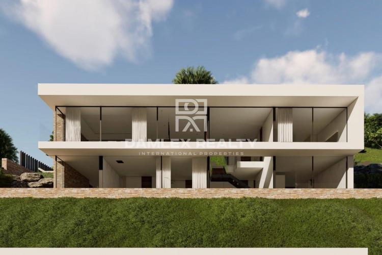 Nouvelle villa avec vue panoramique imprenable à Playa de Aro
