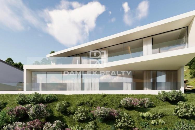 Villa de style nouveau et moderne avec une vue imprenable à Playa de Aro