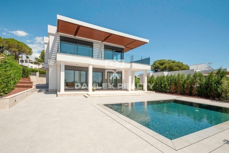 Villa neuve de luxe avec vue sur la mer à Playa de Aro