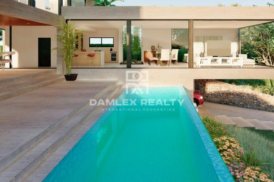 Magnifique villa avec vue imprenable sur la mer à Platja d`Aro