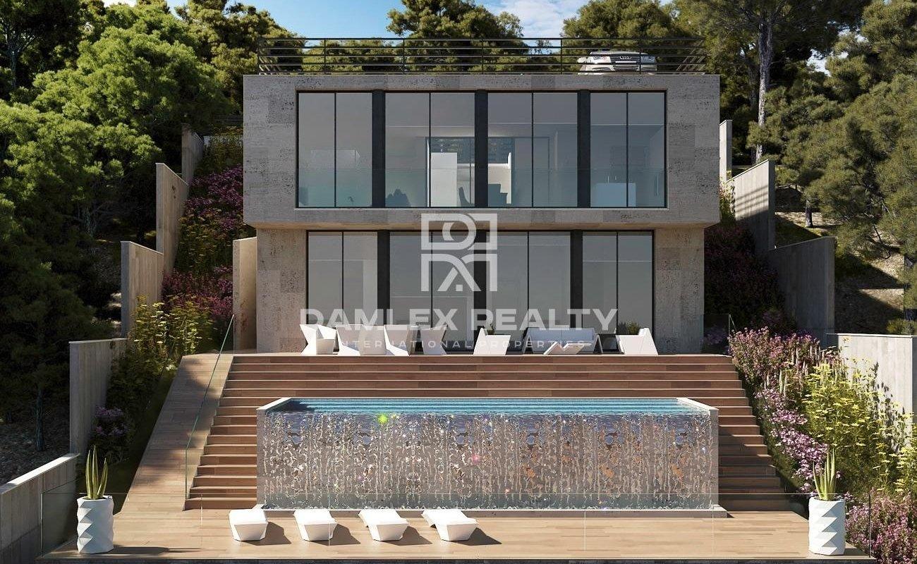 Maison / Villa avec 4 chambres, terrain 750m2, a vendre á Sitges, Côte sud de Barcelone