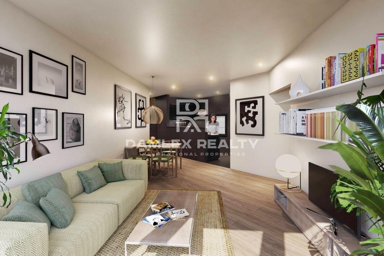 Nouveaux appartements modernes près de la plage à Barcelone
