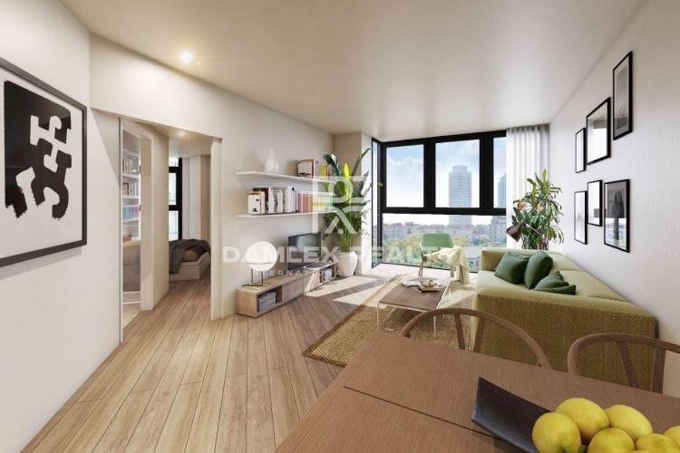 Nouveaux appartements dans le quartier Vila Olimpica de Barcelone