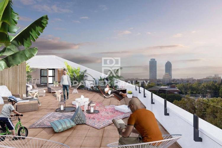 Bel appartement neuf à 5 minutes de la plage de Barcelone volume_up content_copy  share