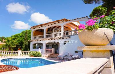 Villa avec vue panoramique sur la mer à Lloret de Mar