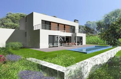 Villa en construction, dans un quartier prestigieux de Platja d`Aro
