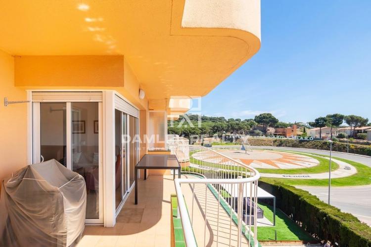 Appartement avec vue sur la mer dans un quartier calme de S`Agaró