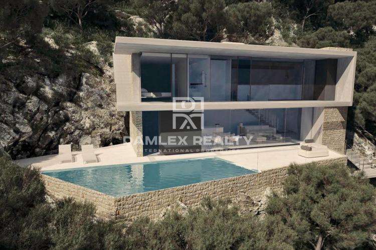 Maison individuelle de nouvelle construction sur un terrain de 990m2 avec des vues spectaculaires